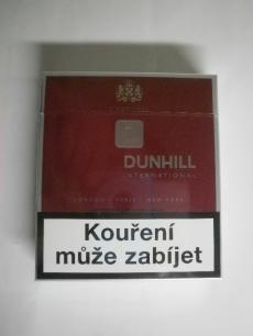 Dunhill International - British American Tobacco - 20ks