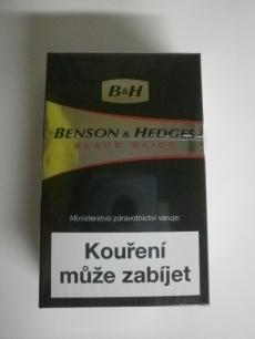 Benson & Hedges Black slide - JT International - 20ks