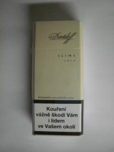 Davidoff Gold slims - Imperial Tobacco ČR - 20ks