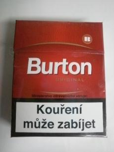 Burton Original - Joh. With. von Eicken - Dovozce Geco Tabák - 23ks