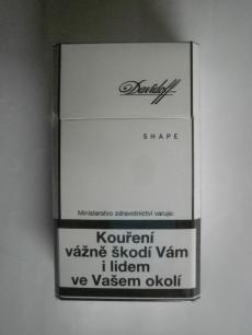 Davidoff White Shape - Imperial Tobacco ČR - 20ks