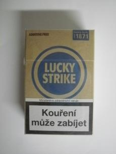 Lucky Strike Blue Additive Free - British American Tobacco - 20ks