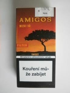 AMIGOS MINI FILTERS SWEET 10 cigares - 10 ks