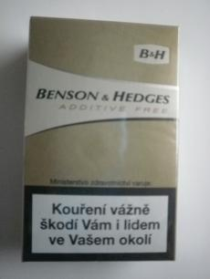 Benson & Hedges Additive free - JT International - 20ks